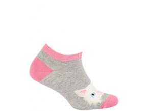Kotníkové ponožky WOLA KOČIČKA