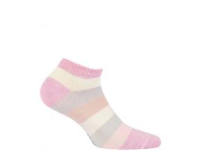 Kotníkové ponožky WOLA PROUŽKY
