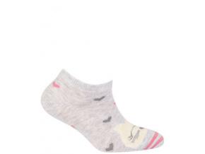 Kotníkové ponožky WOLA KOČKA