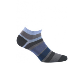 Kotníkové ponožky WOLA PRUHY