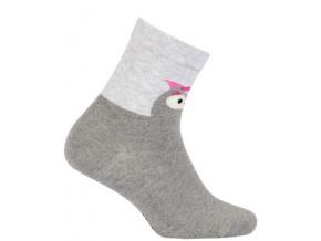 Vzorované dívčí ponožky WOLA SOVIČKA