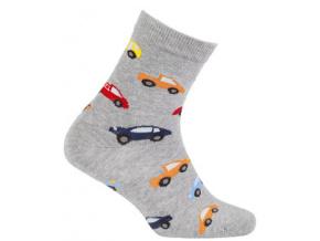 Vzorované ponožky pro kluky WOLA AUTA
