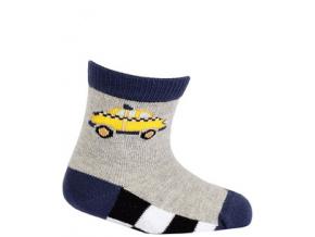 Vzorované ponožky WOLA AUTO