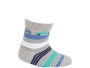 Vzorované kojenecké ponožky WOLA AUTÍČKA