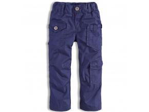 Chlapecké zateplené kalhoty DIRKJE modré
