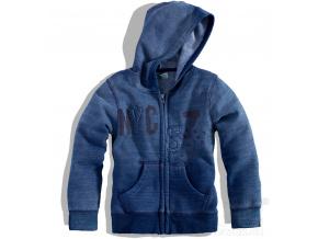 Dětská mikina Dirkje NYC modrá
