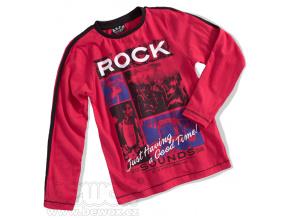 Chlapecké triko dlouhý rukáv ROCK