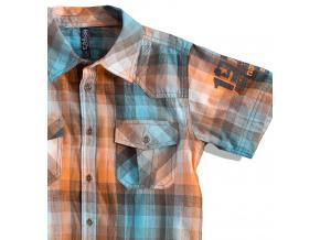 Chlapecká košile s krátkým rukávem