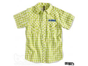 Chlapecká košile s krátkým rukávem BOYSTAR světle zelená