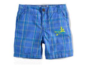 Chlapecké šortky BOYSTAR KOSTKA modré