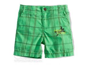 Chlapecké šortky BOYSTAR KOSTKA zelené
