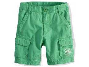 Chlapecké šortky PEBBLESTONE zelené