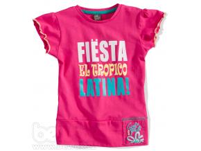 Dívčí tričko FIESTA růžové