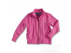 Dívčí mikina GIRLSTAR růžová