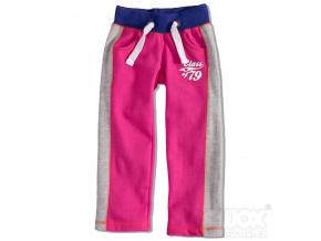 Dívčí tepláky GIRLSTAR růžové