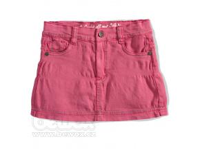 Dívčí riflová sukně GIRLSTAR růžová