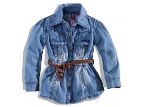 Dívčí džínová košile