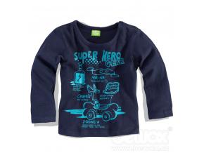 Chlapecké triko PEBBLESTONE HERO modré
