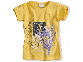 Dívčí tričko DIRKJE ADVENTURE žluté