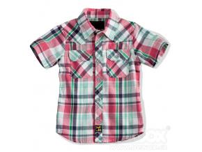 Chlapecká košile krátký rukáv MINOTI BOARD