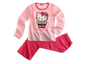 Dívčí pyžamo HELLO KITTY růžové