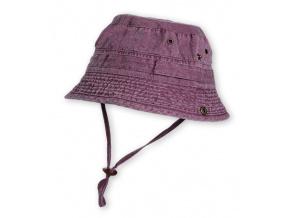Dětský klobouk HAPPY KIDS fialový
