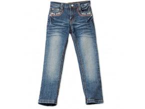 Dívčí jeans kalhoty