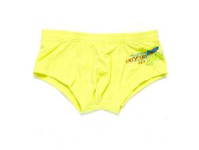 Chlapecké boxerky KEY SURF žluté