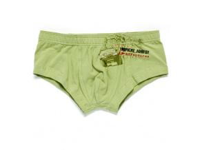 Chlapecké boxerky KEY TROPICAL FOREST zelené