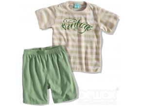 Chlapecké pyžamo Kyly VINTAGE khaki
