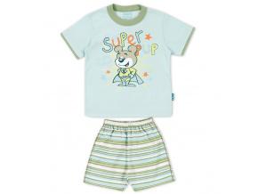 Dětské pyžamo Kyly MÉĎA světle modré