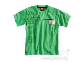 Chlapceké tričko krátký rukáv KYLY zelené