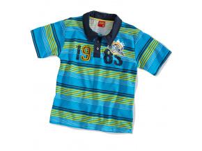 Dětské tričko polo KYLY modré