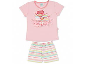 Dívčí pyžamo Kyly BALETKA růžové