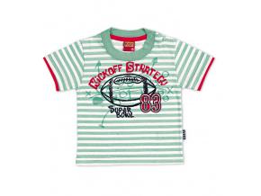 Tričko KYLY SUPER BOWL světle zelené