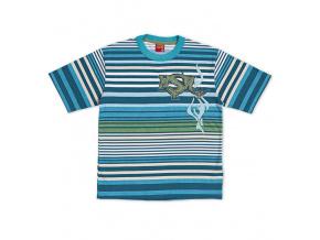 Chlapecké tričko KYLY modrý proužek