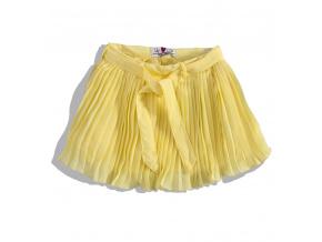 Dívčí plisovaná sukně Lily&Lola MINOTI lemon 7