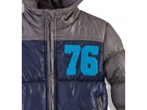 Dětská zimní bunda ROCK modrá