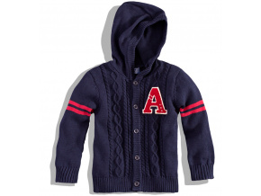 Chlapecký svetr s kapucí Minoti TIGER MINOTI