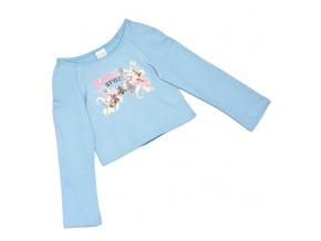 Dívčí triko RUSTIC STYLE světle modré
