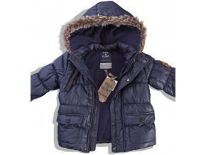 Chlapecká zimní bunda VALLEY modrá