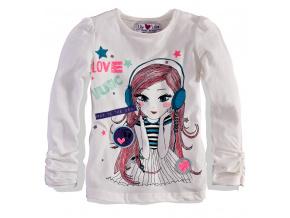 Dívčí triko s dlouhým rukávem Lilly&Lola LILLY&LOLA