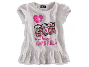 Dívčí tričko krátký rukáv, Minoti ADVENTURE MINOTI adventure 6