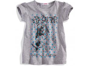 Dívčí tričko s krátkým rukávem Minoti MINOTI