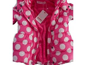 Dívčí zimní bunda MINOTI růžová