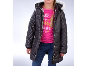 Dívčí zimní bunda MINOTI GRUNGE