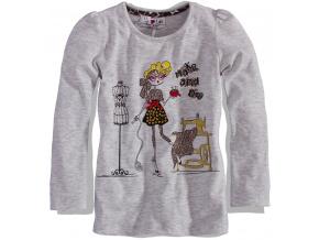 Dívčí triko dlouhý rukáv Lily&Lola FUNKY DIVA