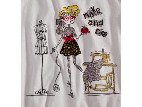 Dívčí triko dlouhý rukáv Lily&Lola