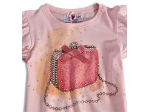 Dívčí triko s dlouhým rukávem Lilly Lola