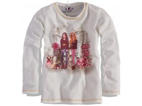 Dívčí triko dlouhý rukáv Lily&Lola, PASTEL LILLY&LOLA